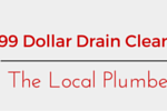 99 Dollar Drain Cleaning